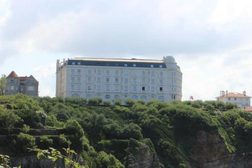 Beautiful Sea View in Hotel Regina / Belle vue sur mer La Residence Hotel Regina Biarritz