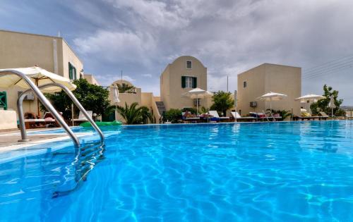 Bazén v ubytovaní Phevos Villa alebo v jeho blízkosti