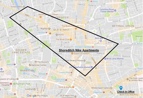 Shoreditch Nike Apartments London Uk Booking Com