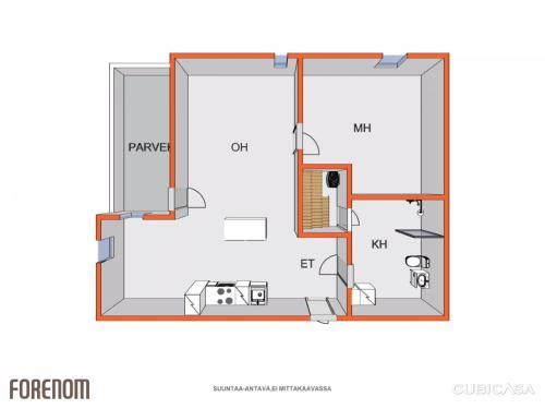 2 room apartment in Jyväskylä - Vapaudenkatu 35