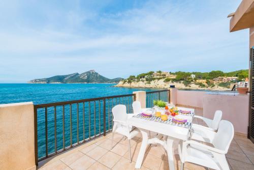 A balcony or terrace at Vista Azul