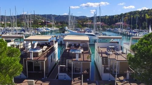 Floating Sea House Marina Portorose Lux