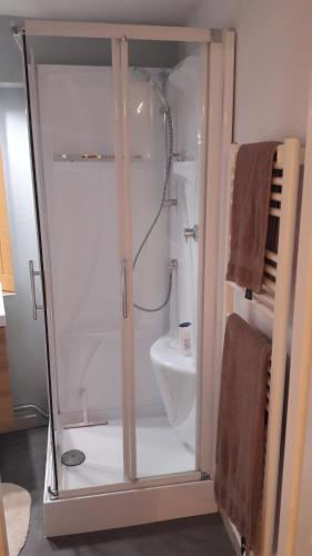 Salle de bains dans l'établissement Studio Tout Confort Centre Ville