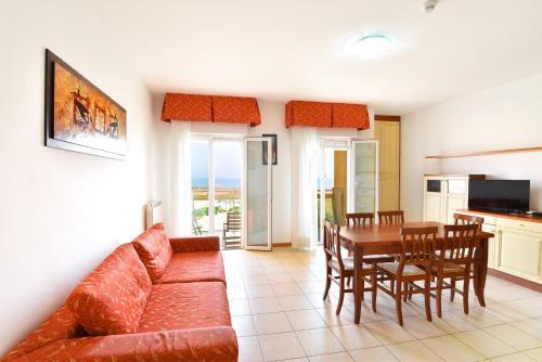 Posezení v ubytování Hotel Villa Olga