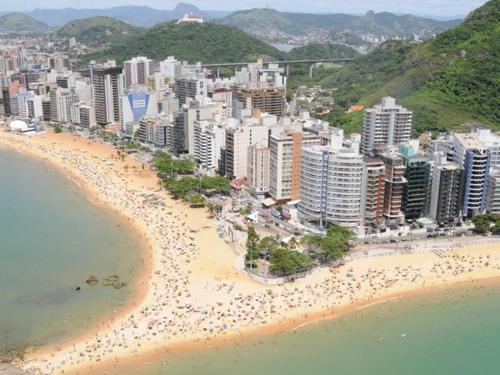 A bird's-eye view of Apartamento Praia da Costa