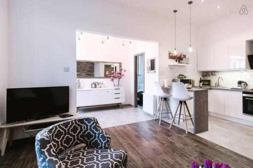 A kitchen or kitchenette at Bajcsy 39 Apartment