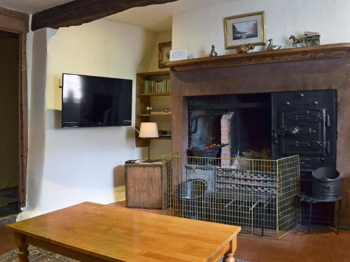 A television and/or entertainment center at Nokka