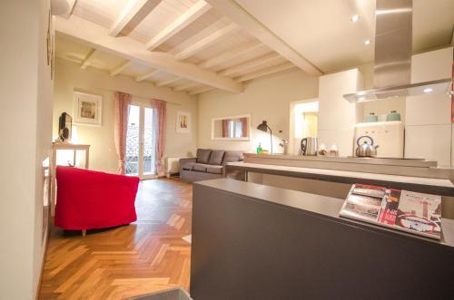 Cucina o angolo cottura di Azeglio apartment, a due passi da Piazza Maggiore