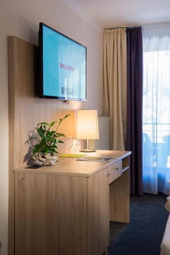 Et tv og/eller underholdning på Hotel Schwarzwaldhof