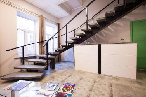 Vestíbul o recepció de Pushkinskaya Apartments