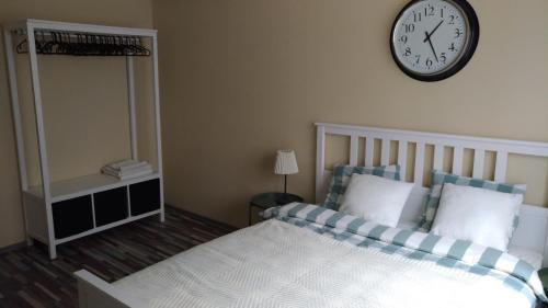 Tempat tidur dalam kamar di All you want from Prague