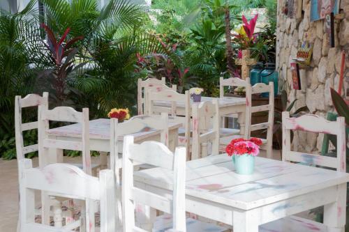 Un restaurante o sitio para comer en LiveTulum