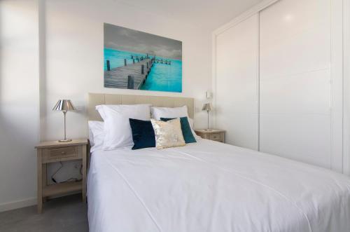 Lova arba lovos apgyvendinimo įstaigoje Gran Vía Princesa Apartment