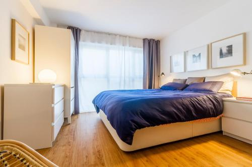 A bed or beds in a room at Duplex en San Lorenzo