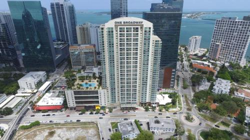 A bird's-eye view of OB Suites Brickell Miami