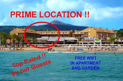 Luxury Apartment 1st line Javea Beach