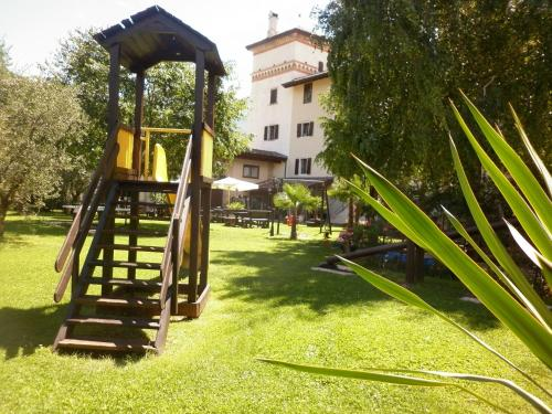 Children's play area at Residence La Colombera