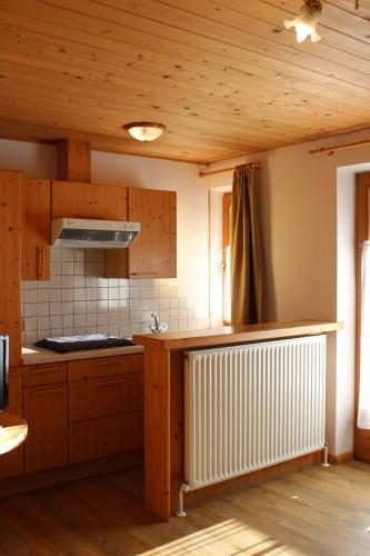 A kitchen or kitchenette at Haus Waldruhe