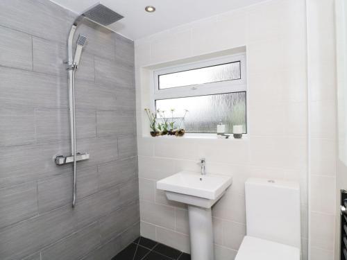 A bathroom at 1 Tyn Fawnog