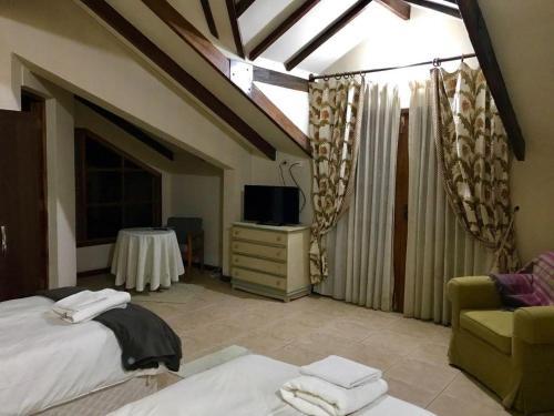 Cama o camas de una habitación en Nuestra Casa en Tarija