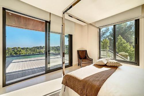 Modern Villa Son Vida, Palma de Mallorca