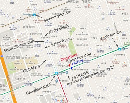 Apartment J studio Gangnam Station Seoul South Korea Bookingcom