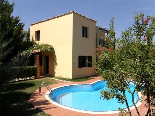 Inspired Villa Christina III with private pool and garden.