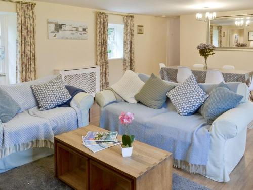 A seating area at Rosemary Cottage