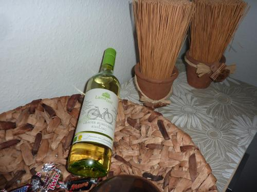Getränke in der Unterkunft Ferienwohnung Helena