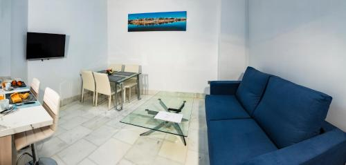 A seating area at Betis 7 Luxury Boutique Apartments