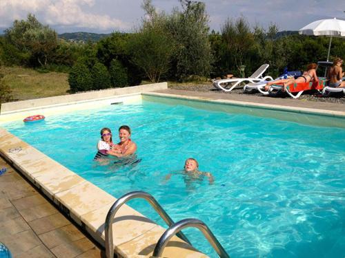 The swimming pool at or near Serra Destri
