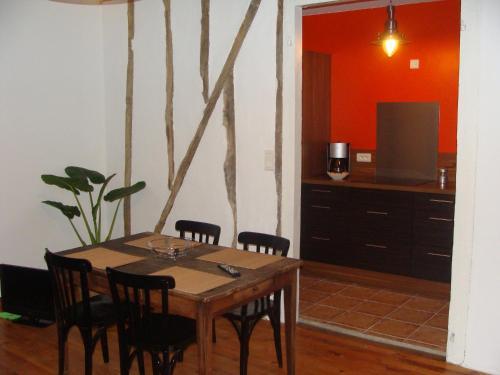 Spiseplads i lejligheden