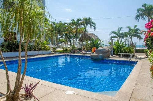 The swimming pool at or near Paloma Blanca C2