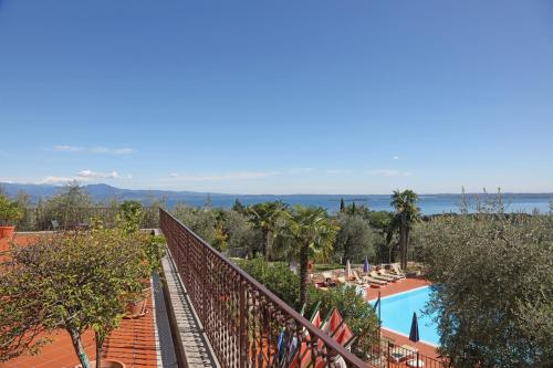 A view of the pool at Residence San Rocco or nearby