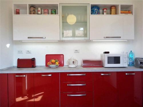 Küche/Küchenzeile in der Unterkunft Etrusco Antico