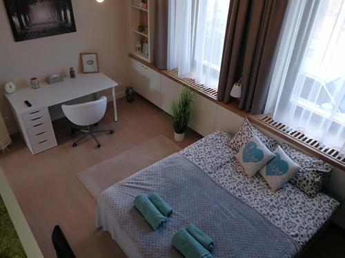 A bathroom at Zsinkó Villa