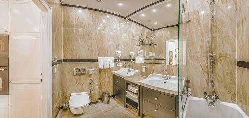 Vannituba majutusasutuses VIP Residence Budapest Riverside