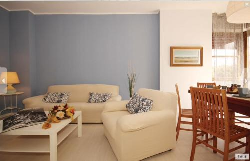 A seating area at Casa Ilaria