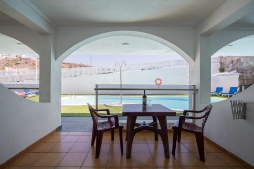 A balcony or terrace at eó Corona Cedral