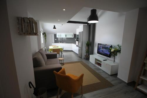 Posedenie v ubytovaní Apartamento La Paz