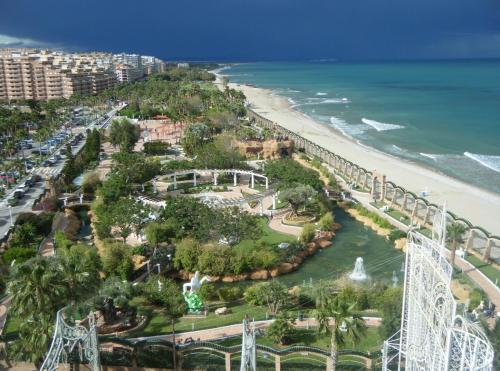 A bird's-eye view of Apartamento Caribe Playa