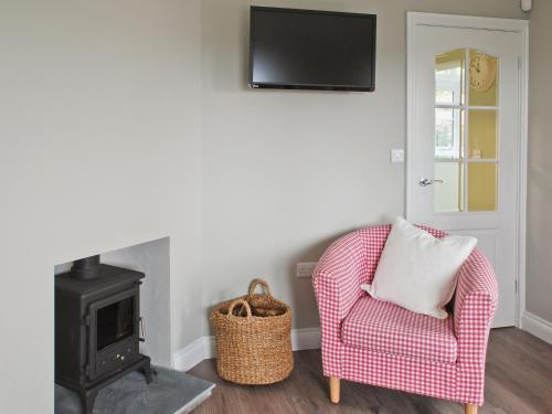 A seating area at Walden Cottage