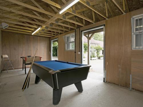 A pool table at The Cottage