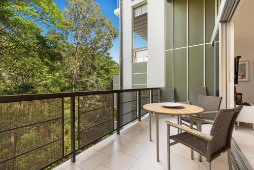 A balcony or terrace at Peppers Noosa Resort and Villas