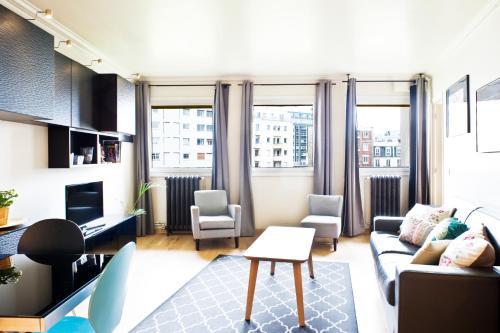 Istumisnurk majutusasutuses Pick a Flat - Eiffel Tower / Champs de Mars apartments