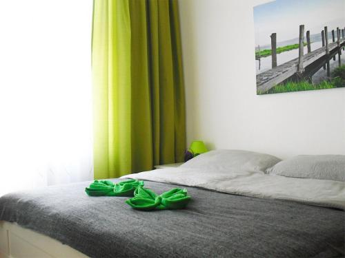 A bed or beds in a room at Appartements Zieglergasse