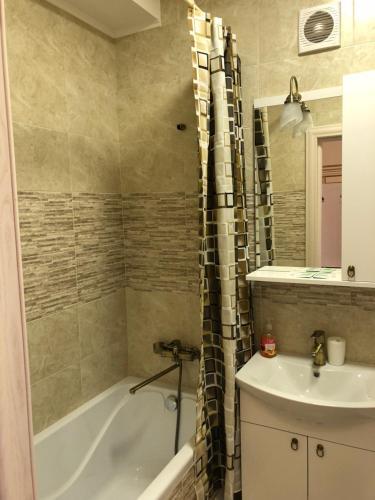 Kupatilo u objektu Apartment on Parkovaya 6