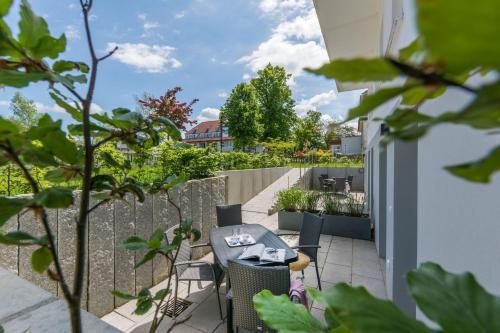 En balkong eller terrass på Luv