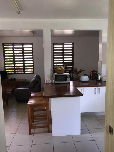 A kitchen or kitchenette at Marine Cup