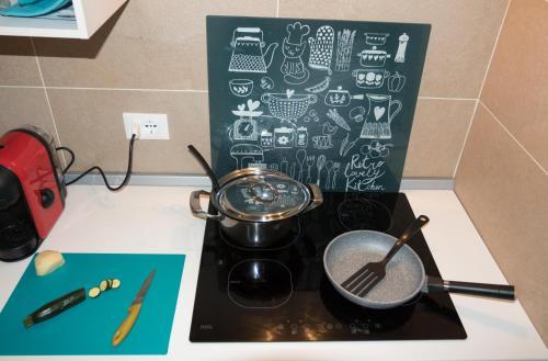 A kitchen or kitchenette at Galè Apartment